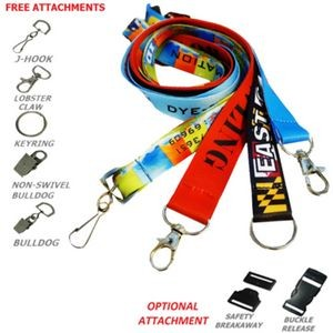 Navy Sublimated Imprint on Removable Clasp Lanyard U.S